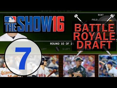 MLB 16 The Show | Battle Royale Draft Ep. 7 | Worst Overall Team EVER!!!