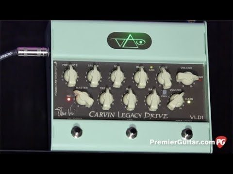 Review Demo - Carvin VLD1 Steve Vai Legacy Drive