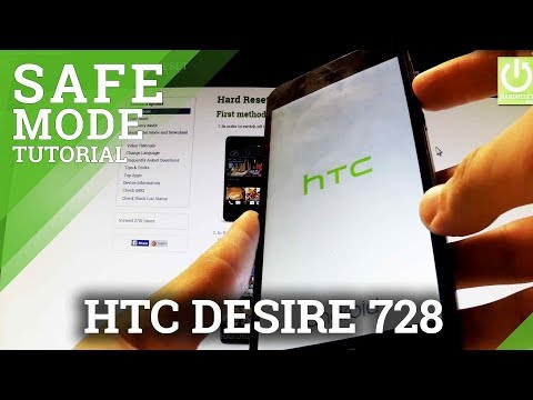 How to enter Safe Mode in HTC Desire 728G - Safe Mode in HTC