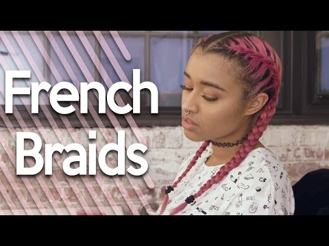 How To French Braid | Simple Easy Tutorial on French Braiding Hair!