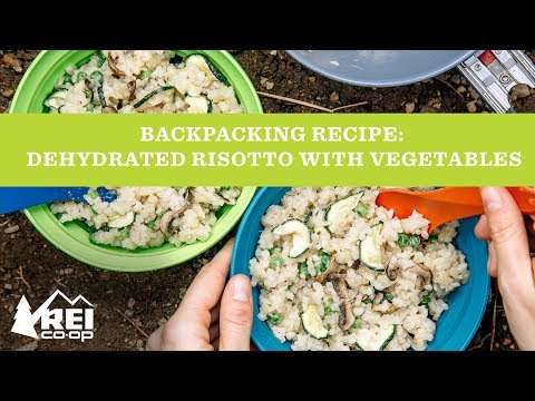 Backpacking Recipe: Dehydrated Risotto with Spring Vegetables   REI