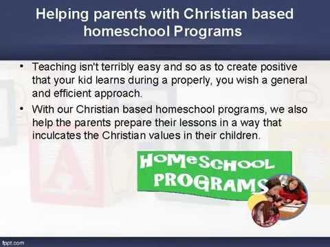 Christian homeschool programs  in