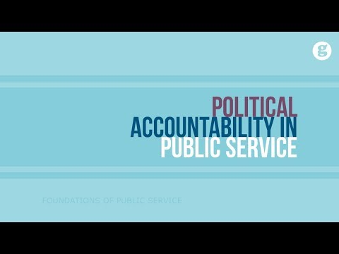 Political Accountability in Public Service