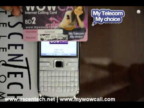 WOWCALL for Symbian - Ascentech Telecom