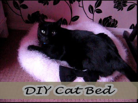 DIY Easy Cat Bed