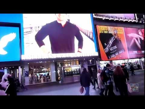 ¡¡¡Estamos En Time Square!!! | New York | Enero 2015