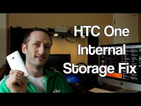How To Fix HTC One Android 4.2.2 Internal Storage - Or Any Android Device
