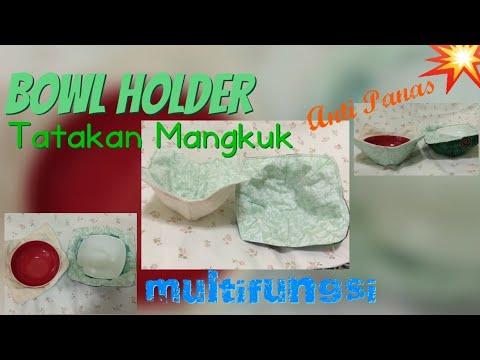 BOWL HOLDER / Cara jahit tatakan mangkuk anti Panas Multifungsi