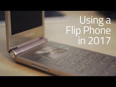 Using a Flip Phone in 2017 - Samsung Galaxy Folder 2 Review