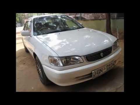 Toyota Corolla car for sale in Srilanka (www.ADSking.lk)