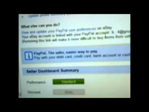 How to delete Paypal account from Ebay account