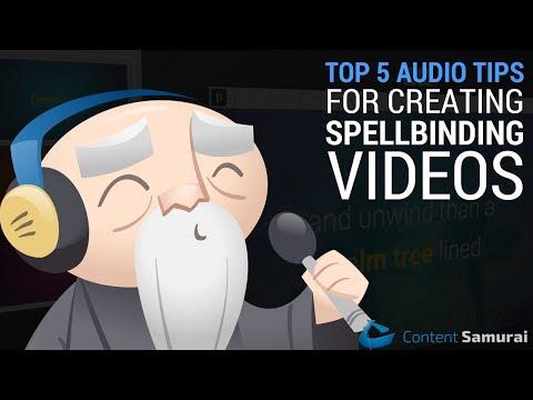 Top 5 Audio Tips For Creating Spellbinding Videos [2017]