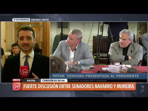 Xxx Mp4 Senadores Navarro Y Moreira Protagonizaron Fuerte Discusión 3gp Sex