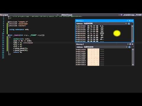 C++ Vectors part 1