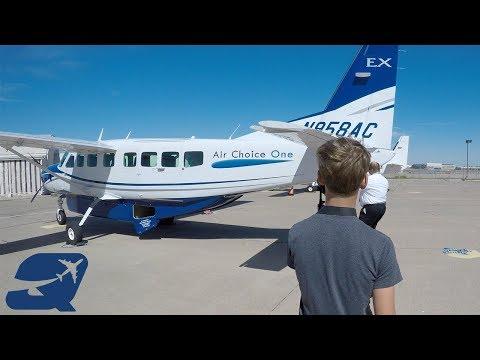 A tour of Air Choice One's aircraft