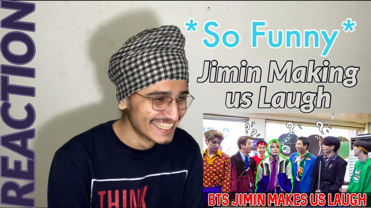 Indian Reacts To BTS Jimin Makes Us Laugh On The First Days Of 2021