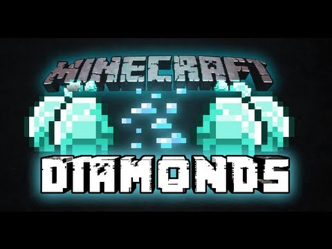 How to find Diamonds in Minecraft Easy 1.7.9 (1.7.4 seed REAL)