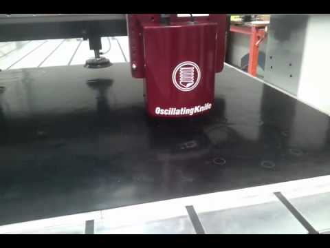 Cutting rubber gaskets with Multicam CNC routing machines