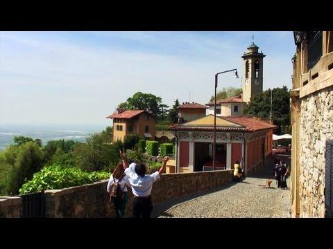 Bergamo Italy - Castello di San Vigilio