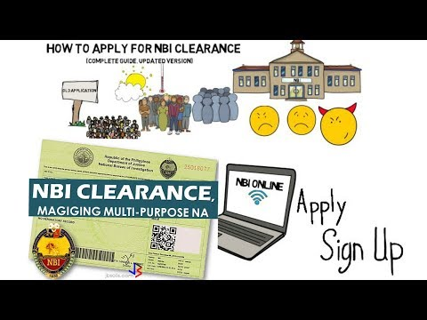 How To Apply For An NBI Clearance Online For The First Time (2017 UPDATE)