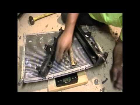 Scrapping an Aluminum Radiator