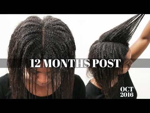 Transitioning To NATURAL HAIR (1 YEAR Post Relaxer) (Hair Update) (Oct 2016)