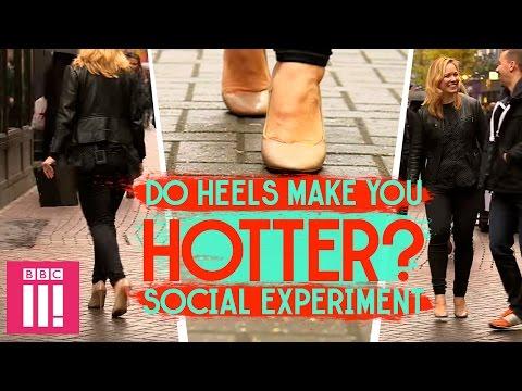 Do Heels Make You Hotter?   Social Experiment