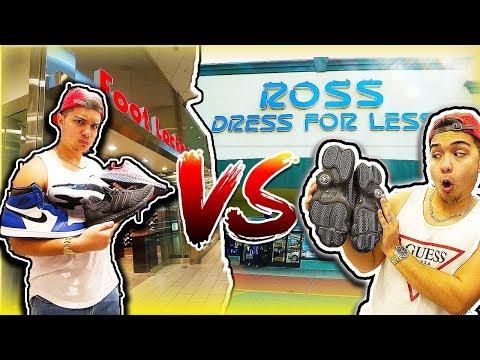 ROSS VS FOOT LOCKER! (BANG FOR YOUR BUCK!)