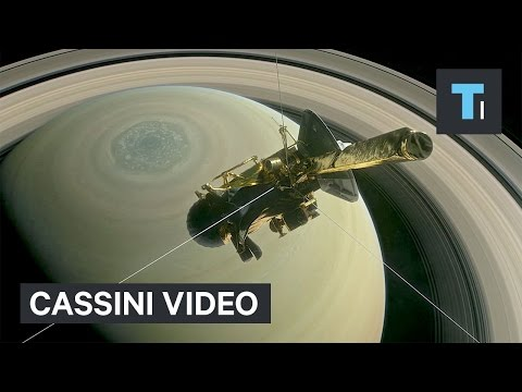 NASA released its first incredible video of our closest look at Saturn yet