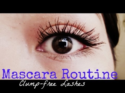 My Mascara Routine + Trick for Clump-free Lashes.