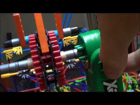 Knex Roller Coaster Build | Ball Machine