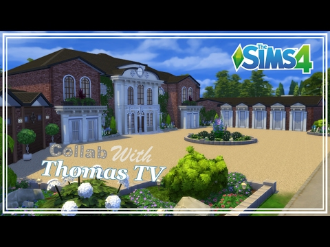 The Sims 4 - House Build - Collab With Thomas TV