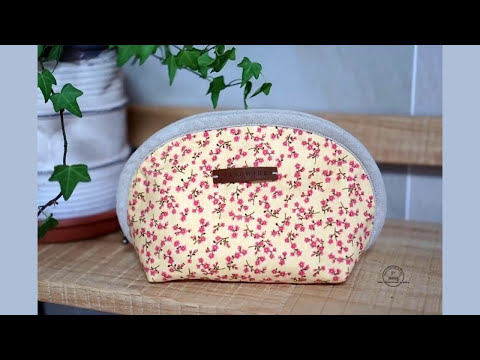 Shine Sewing Tutorial Half Moon Pouch
