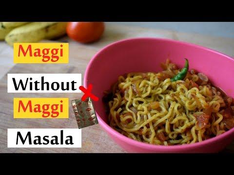 Maggi without maggi masala| 2min recipe| taste like maggi