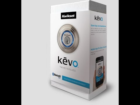 Unboxing bluetooth Home Security Lock from Smart Phone
