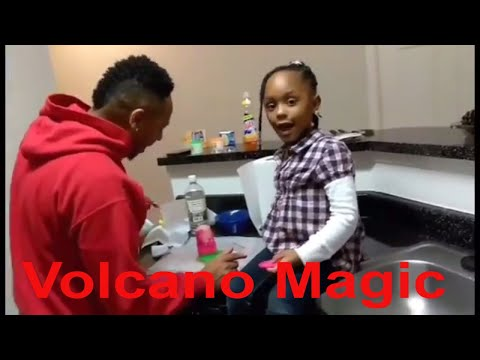 How To Make a Volcano Easy Kids Science Experiments Project Experience