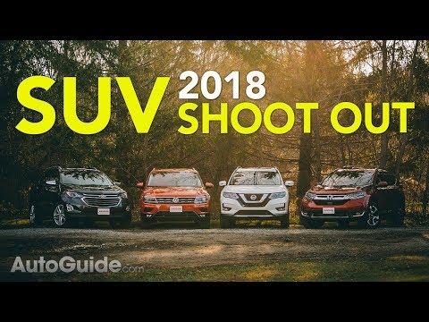 4 Crossover Comparison: 2018 Honda CR-V vs Nissan Rogue vs Volkswagen Tiguan vs Chevrolet Equinox