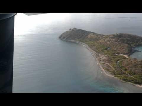 Landing in Tortola BVI