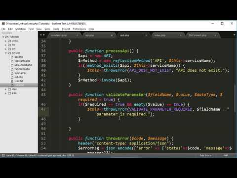 REST API Development Part 6: Call API and Validate parameters