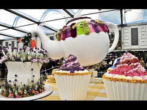 The Art of Flowers in London, England garden Chelsea morning show