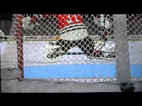 NHL 2K11 Franchise Mode: Antti Niemi lets in a 125 foot goal