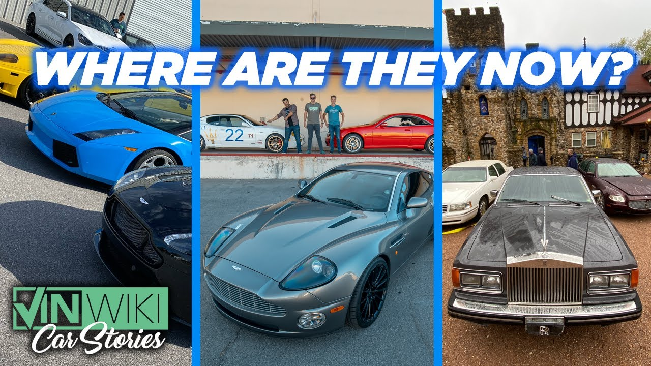 Where are the Car Trek cars now? Updates on all 12