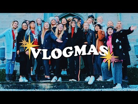VLOGMAS 6 - 8 HUGE YOUTUBER PARTY | Helen Anderson