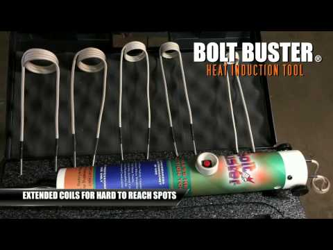 Bolt Buster Rusted Bolt Removal Heat Induction Tool Available 110 Volt and 240 Volt