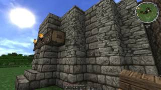 Minecraft: Let´s Play Together, S01e07, Treppenhaus
