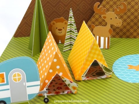 How to Make an Origami Tent!!
