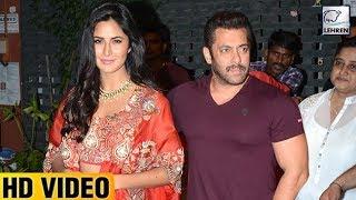 Salman And Katrina Party Together At Arpita Khan's Diwali Party | LehrenTV
