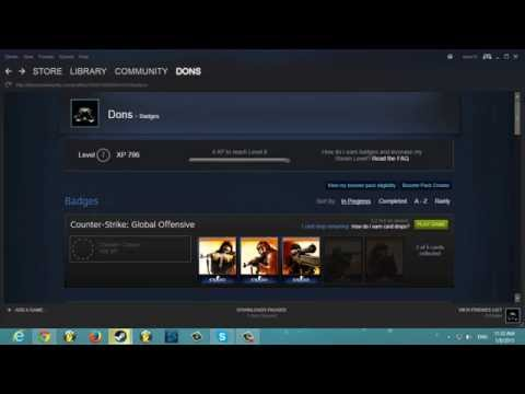 [EASY]How to get steam trading cards free! (2015)