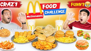 EPIC MCDONALD'S FOOD EATING CHALLENGE | McDonald's Veg Menu Challenge | Viwa Food World