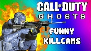 COD Ghosts Funny Killcams - Gas Station Kill, Body Launch, LMG Spray, No Scope (Trolling / Funtage)
